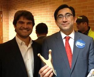David Gómez de Bien Pensado con Diego Molano ministro TIC